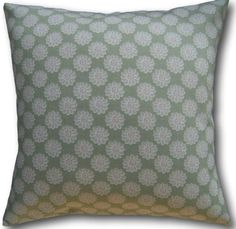 Designer Shabby & Chic Cushion Covers made in Clarke & Clarke Daisy Sage Green Green Cushions, Floral Cushions, Floral Throws, Floral Throw Pillows, Cushion Covers Uk, Shabby Chic Cushions, Clarke And Clarke Fabric, Retro Home