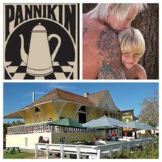 Encinitas California, home of the Pannikin coffee shop, the mother of all coffee shops.