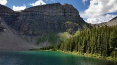 My first hike in Banff National Park was to Bourgeau Lake