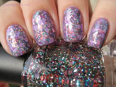 Glittery Sandwich by Sparkly Vernis.