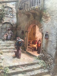 1 million+ Stunning Free Images to Use Anywhere Fontanini Nativity, Diy Nativity, Christmas Nativity Scene, Nativity Scenes, Christmas Crib Ideas, Medieval Houses, Free To Use Images, Winter Painting, Arabic Art