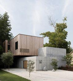 Concrete Box House,© Jack Thompsen