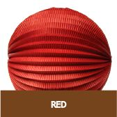 Round Accordion Paper Lanterns #red #Chinese #NewYear