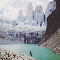 Mountain elation upon reaching a mountain lake in Patagonia.  Photo credit: @alexstrohl  #patagonia #mountains #backpacking #trekking #lakes #summit #peak #adventure #travel #nature #snow #hiking #outdoors #photography #explore #earthfocus #wanderlust #photooftheday #landscape #camping #chile #instagood #mountain #liveauthentic #getoutside #beautiful #optoutside #naturelovers #travelgram #southamerica