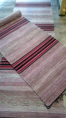 Textiles, Rag Rugs, Tear, Woven Rug, Textile Art, Knots, Weaving, Flower, Cotton