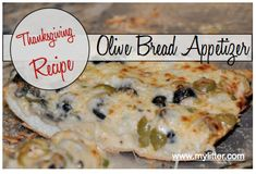 Easy, Yummy, Olive Bread Recipe