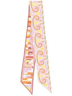 Emilio Pucci Sirens Song-print Scarf - Farfetch Emilio Pucci, Sirens, Accessories Shop, Songs, Mermaids, Song Books