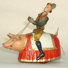 "1904 - 1918 Lehmann  ""Paddy  the Pig"""