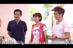 just you Taiwanese drama lol they walk the goldfish