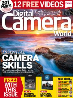 #DigitalCamera World 155. Essential #camera skills! Get outdoors and take better shots with our fact-packed shooting advice.