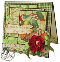Scraps of Life: Day 1 - Graphic 45 The Twelve Days of Gift Tutorials