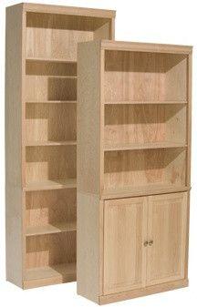 """Classic Alder Bookcase 32"""" x 84"""""""