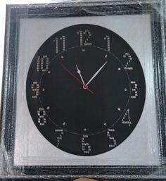 Clock, Home Decor, Punto De Cruz, Watch, Decoration Home, Room Decor, Clocks, Home Interior Design, Home Decoration