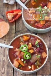 Slow Cooker Sweet Potato Chili Recipe