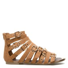 One of my fav gladiator style sandals-will complement all outfits!