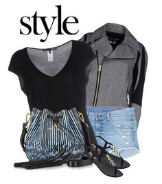 """""""She's Got Style"""" by nightowl59 ❤ liked on Polyvore featuring rag & bone/JEAN, Blue Les Copains, Roberto Cavalli, IPANEMA and Mercedes-Benz"""