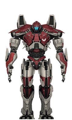 guardian bravo Gundam, Pacific Rim Jaeger, Big Robots, Fighting Robots, Jurassic World Dinosaurs, Arte Robot, Sci Fi Weapons, Robot Concept Art, Mecha Anime