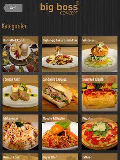 iPad Mini Restaurant Menus, iPad 2 Restaurant Menus, iPad Retina Display Restaurant Menus.