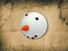 Snowman bath bomb Christmas Soap, Bath Bombs, Snowman, Handmade, Hand Made, Bath Bomb, Craft, Snowmen, Handarbeit