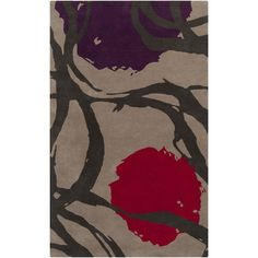 Buy the Surya Pink Direct. Shop for the Surya Pink Harlequin x Rectangle Wool Hand Tufted Contemporary Area Rug and save. Modern Area Rugs, Throw Rugs, Wool Area Rugs, Wool Rugs, Colorful Rugs, Cotton Canvas, Abstract, Painting, Tejido