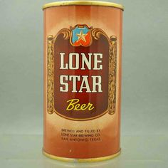 Lone Star 92-10 flat top beer canArts Beer Cans – Resource for ...
