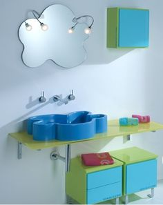 Cute for a kids bathroom! - designed by Agatha Ruiz de la Prada