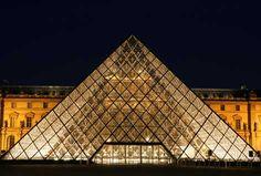 Louvre. Simple and elegant design.