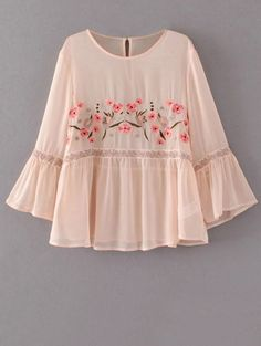 This blush pink flare sleeve blouse has just the right amount of boho for my style! 42 Stylish Outfit Ideas To Wear Now – This blush pink flare sleeve blouse has just the right amount of boho for my style! Boho Fashion, Fashion Dresses, Womens Fashion, Fashion Trends, Fashion Site, Cheap Fashion, Style Fashion, Fashion Spring, Fashion Clothes