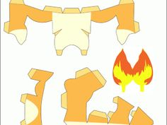 Papercraft Arte Con Papeles Pokemon CharmanderAnimated