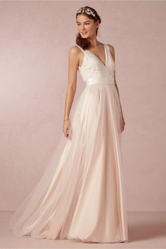 product   Tamsin gown from BHLDN   designed by catherine deane