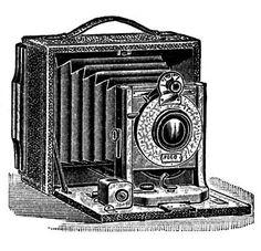 Antique Camera (free printable)