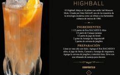 Empresa de bebidas alcohólicas BACARDI ESPAÑA añejo-higball