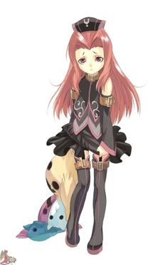 Arietta the Wild from Tales of the Abyss