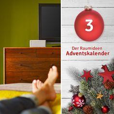 #Raumideen #Adventskalender Das 3. Türchen sorgt für klangvolle Stimmung - ein Bluetooth-Speaker wartet auf euch! ►