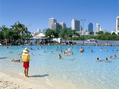 Streets Beach Southbank Brisbane