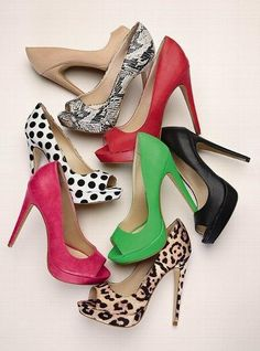 VS collection peep toe #pumps #shoes #heels