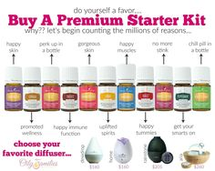 Looking to buy Young Living Essential Oils? Order a Young Living Premium Starter Kit to get you started. Learn how to buy Young Living Oils. Essential Oil Starter Kit, What Are Essential Oils, Young Living Essential Oils, Essential Oil Diffuser, Young Living Peppermint, Young Living Distributor, Thing 1, Living Essentials, Happy Skin