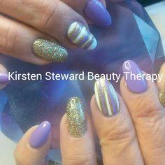 Artistic Colour Gloss nail art
