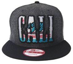 Amazon.com: California Republic New Era Snapback Cap Hat CALI State Fleece Black: Everything Else