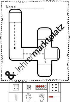 Mathe - Zahlen von 1 bis 9 Arbeitsblätter
