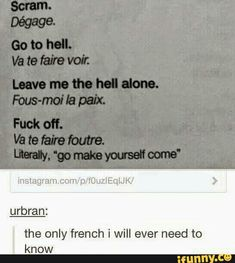 Welcome to French class