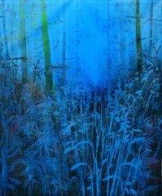 "Saatchi Art Artist Armando Rabadán; Painting, ""Dreaming in blue"" #art"