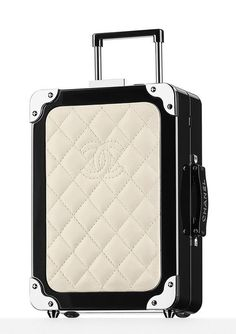 50 Bags (and Prices!) from Chanel's Travel-Themed Spring 2016 Collection, in S… 50 Bags (and Prices!) from Chanel's Travel-Themed Spring 2016 Collection, in Stores Now Chanel Luggage, Luxury Luggage, Luxury Bags, Chanel Clutch, Coco Chanel, Burberry Handbags, Chanel Handbags, Burberry Bags, Travel Accessories