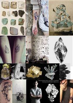http://puncturedartefact.wordpress.com/2014/01/07/wear-your-ink-crystallised-tattoo-design-style-and-culture/ New Blog Post in my 'Wear Your Ink' section. Featuring my inspiration board of all things crystallised. Gems, geology & geometry!