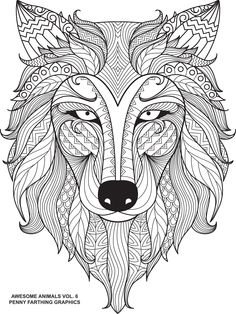 """Wolf from """"Awesome Animals Volume 6"""""""