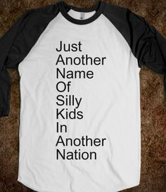 Just Another Name Of Silly Kids In Another Nation.. Skip...JANOSKIANS ;) x
