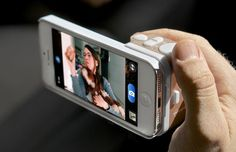 Snappgripp photo accessory for iPhones - helps you take waaaay better photos with your iPhone.