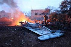 """Syrie: acharnement contre les dernières zones rebelles - Un déluge de feu et de fer sabat depuis dimanche 4février sur les zones rebelles syriennes dIdlib et de la Ghouta orientale la banlieue de Damas. - http://ift.tt/2E825XG - \""""lemonde a la une\"""" ifttt le monde.fr - actualités  - February 06 2018 at 12:15AM"""