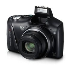 Canon PowerShot SX150 IS 14.1 MP Digital Camera with 12x Wide-Angle Optical Image Stabilized Zoom with 3.0-Inch LCD (Black) --- http://www.amazon.com/Canon-PowerShot-Wide-Angle-Stabilized-3-0-Inch/dp/B005I6DVC0/?tag=sipaab070-20