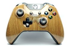 Wood Grain Style Custom Xbox One Controller from ControlBlast.co.uk  #xboxone #xb1 #xbone #custom #controller #customcontroller #customcontrollers #controlblast #xboxonecontroller #wood #wooden #woodgrain